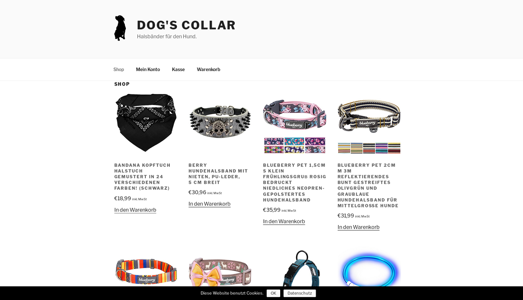 screenshot dogscollar