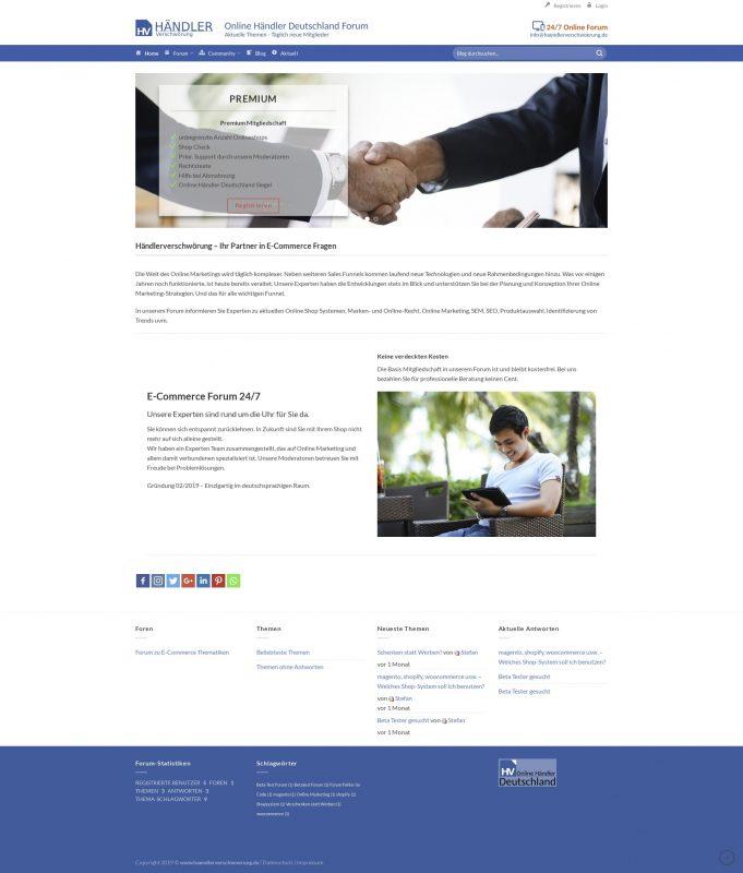 Erstellen von Community und Forum Web Anwendungen