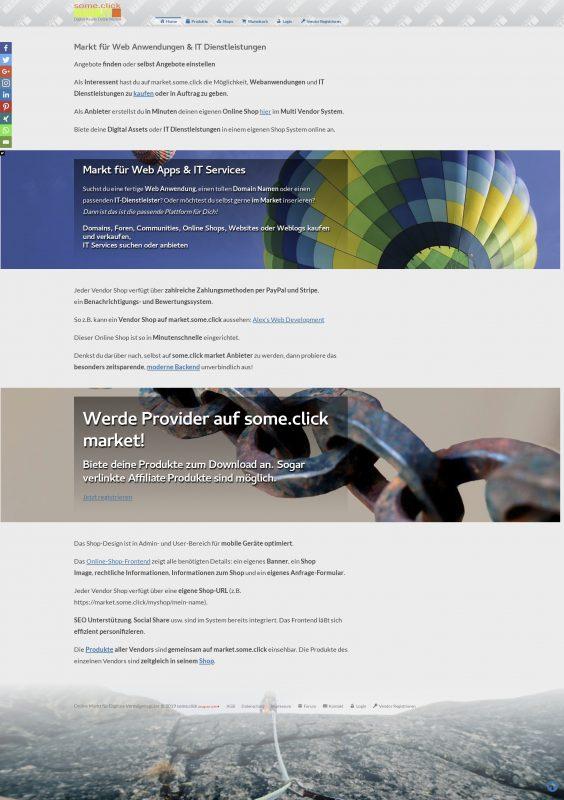 Online Markt Platz Entwicklung » Website & Online Shop ...