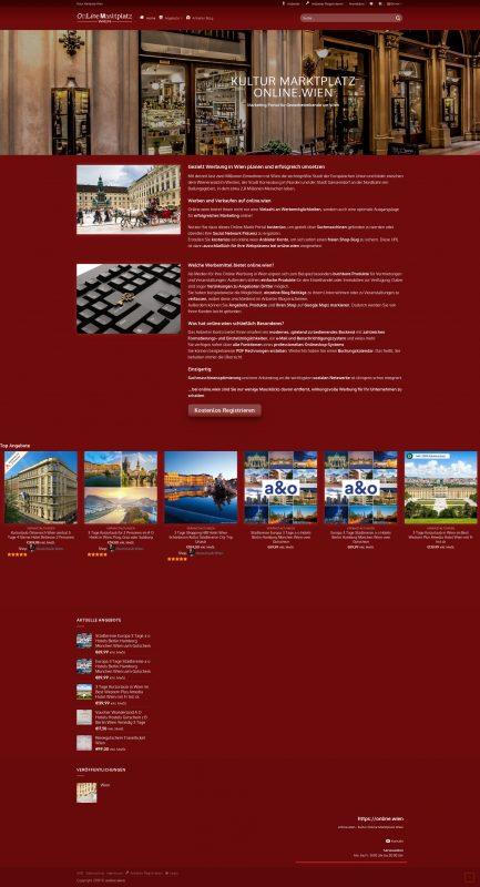 Multi Vendor Market Erstellung mit WordPress CMS und Woocommerce Frontend Manager